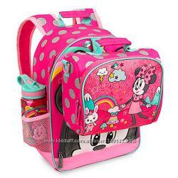 Школьный рюкзак и Ланчбокс Минни Маус от Дисней Minnie Mouse