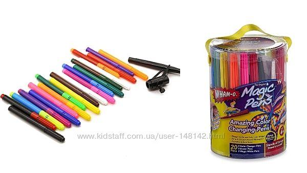 Волшебные фломастеры пишут стирают Wham-O Magic Pens 20 штОригинал  Америка