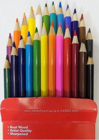 Цветные карандаши Cra-Z-Art  24 шт Оригинал Крайола  Мелки   Маркеры