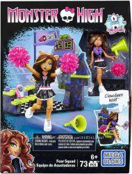 Мега  блокс Monster High Mega Bloks Командный дух Клодин Вульф 73 дет  13