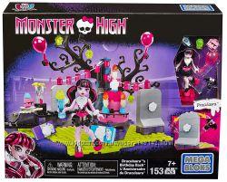Мега блокс Mega Bloks Monster High Draculaura Дракулаура Birthday 153дет 13