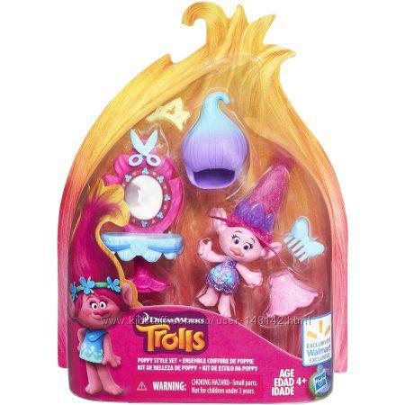 Тролли DreamWorks Trolls Игровой набор Парикмахерская Поппи