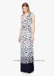 Платье вечернее длинное макси  Манго MANGO Мангоаутлет L Испания