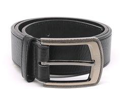 Мужской  черный кожаный пояс  ремень  Duke Leather Belt  Англия
