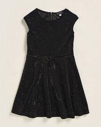 Черное  платье с блестками и  молнией на спине Размер 14Т Hannah Bananа США
