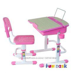 Комплект парта и стул-трансформеры FunDesk Capri Pink, Blue