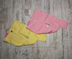 Летние стильные цветные джинсы штаны slim слим от Impidimpi. Размер 74-80