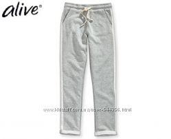 Стильные штаны брюки с лампасами для девочки от Alive трикотаж