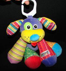 Игрушка-Подвеска собака Lamaze для малыша