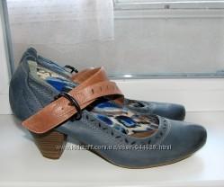 Туфли кожаные Tamaris 41 р. , 26 см
