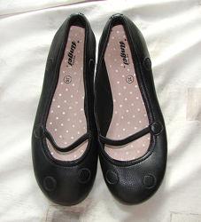 Туфли балетки черные Angel 35 р. , 22,3 см