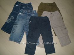 Джинсы M&CO, С&А baby club, cherokee, штаны котоновые