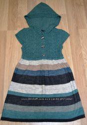 Шерстяное платье с капюшоном можно для беременных