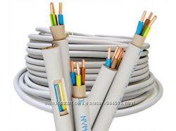 Розетки, выключатели, лампочки, кабель, автоматы, диф. защита, электросчетч