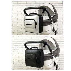 Универсальная сумка на коляску z&d maxiеко кожа