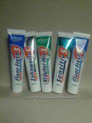 Зубная пастаЗубна паста Elkos 125мл  Elkos Krauter-MiЕлкос 125мл Германия