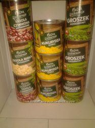 Консервированная фасоль, кукурузка, горошок, томати  Nasza Spizarnia Польша