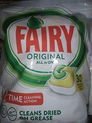 Таблетки для посудомоечной машины Fairy All In One 30 капсула