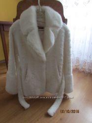 Біла шубка  38-40р весільний варіант
