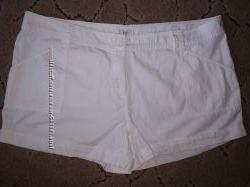 Белые шорты котон большой размер 20р.