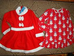 Новогодние платья 3-5 лет