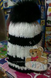 Зимняя шапка для девочки Agbo 48-50 см.