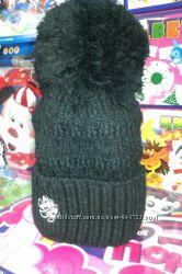 Зимняя шапка для девочки Agbo 50-54 см.