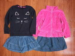 Пакет одежды для девочки 5-7 лет  116-128 р.