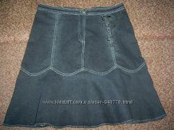 Красивая женская джинсовая юбка