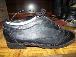 Обувь 35 р 4 пары туфли оксфорды лоферы
