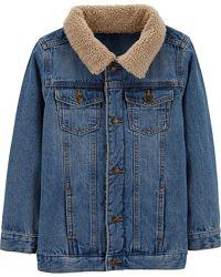 Джинсовая куртка для мальчика Картерс