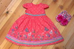 красивое платье Mothercare Новое 9-18 мес