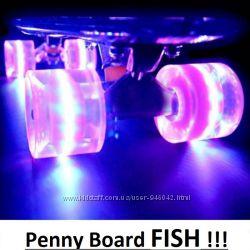 Скейтборд Penny Board PASTEL FISH, Пенни Борд, КиеВ, гарантия, самовывоз