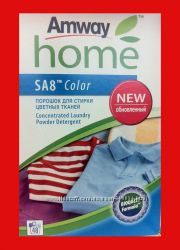 Дешево SA8 Color Концентрированный порошок для стирки цветных тканей amway