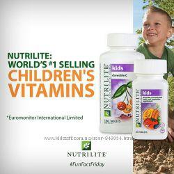 Детские витамины Мультивитамин, Кальций-Магний, Витамин С