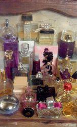 Остатки парфюмерии в родных флаконах. Оригинал