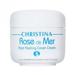 Акция  Rose de Mer Post Peeling Cover Cream тональный защитный крем.