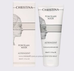 Поросуживающая фарфоровая маска Порцелан для жирной и проблемной кожи