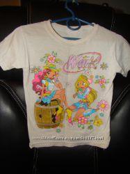 літні нарядні футболки для дівчинки