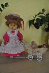 Винтажная итальянская кукла Sebino