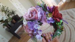 Продам ободок-веночек из цветов