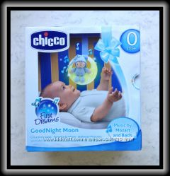 Игрушка музыкальная на кроватку Good night Moon Chicco Чико