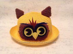 Детские шапочки панамки на лето