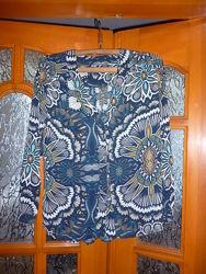продам красивую блузку рубашку на разм 48-50 или L, в отличном состоянии, п