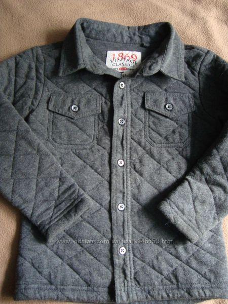 Утеплена рубашка на 2-3 роки