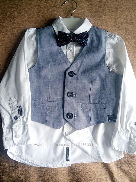 Набір сорочка з жилеткою.