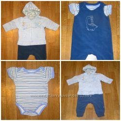 Комплект для мальчика 3-6 месяцев из 3-х предметов