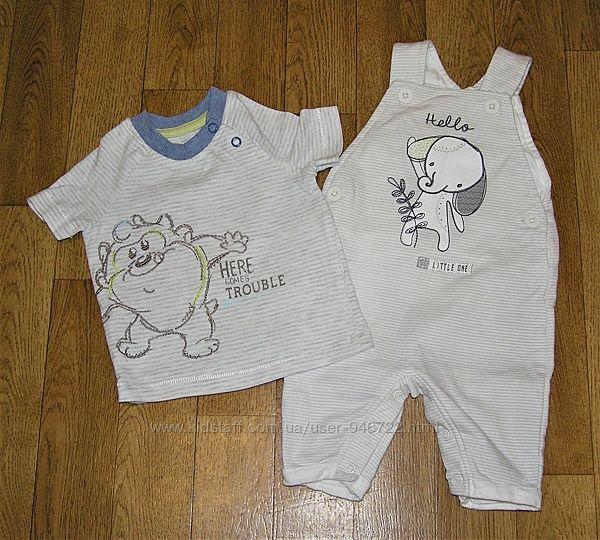 Комплект лентей одежды для мальчика от 0-3 мес.