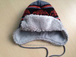 Зимняя шапка LENNE машинки р. 48 почти Новая