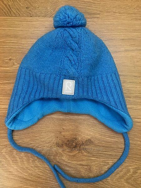 Зимняя шапка Reima р.48 в отличном состоянии